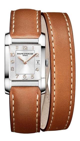 Reloj Baume & Mercier Hampton 10110 Piel Ghiberti
