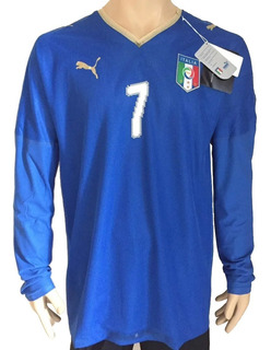 Jersey Italia Puma Usd 2008 Local Manga Larga (termosellada)