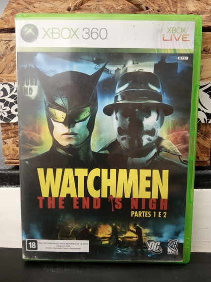 Watchmen The End Is Nigh Parte 1 E 2 Xbox 360
