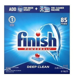 Finish Powerball Detergente Lavavajillas 85 Tabletas