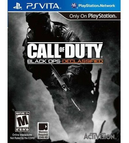 Jogo Ps Vita - Call Of Duty Black Ops: Declassified Novo