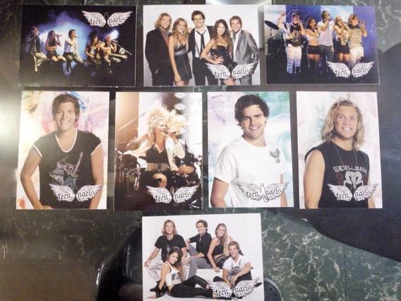 Lote Teenangels Tarjetas Postales Y Stickers