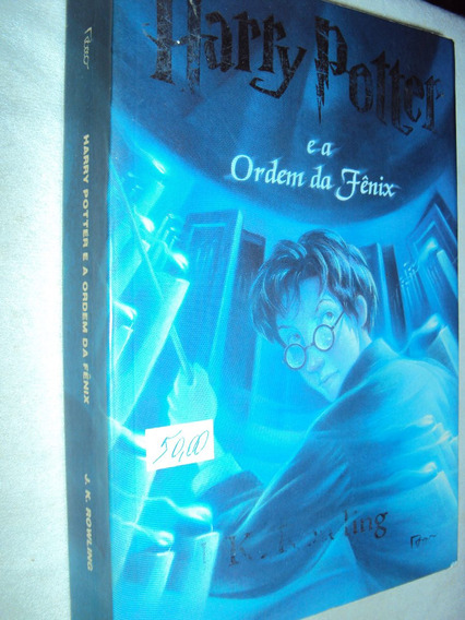 Harry Potter E A Ordem Da Fênix (sebo Amigo)