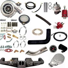 Kit Turbo Pulsativo Opala 6cc Com Turbo Super .70 Carburado