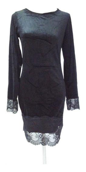 Vestido Ejecutivo Elegante Negro - Mla