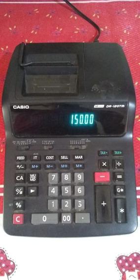 Calculadora Cassio Eletrica Modelo Dr 120 Tm Funcionando