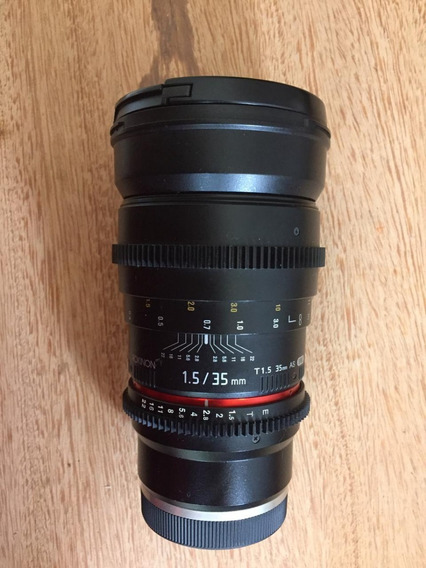 Rokinon 35mm T1.5 Lente Para Sony E Mount