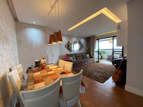 Imagem 1 de 29 de Apartamento Com 4 Dormitórios À Venda, 123 M² Por R$ 750.000,00 - Bosque Dos Eucaliptos - São José Dos Campos/sp - Ap0901