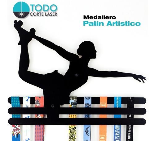 Imagen 1 de 5 de Medallero Patín Artístico-deportivo