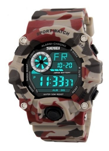 Relógio Esportivo Skmei Militar Original Resistente Água