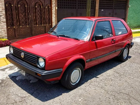Golf 1990 Precioso, Motor Impecable, Pintura, Interiores !!!