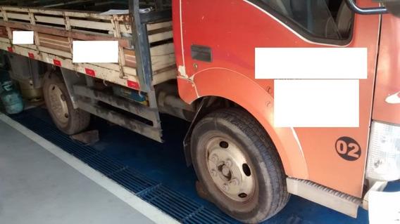 Caminhão Effa Jbc 2011 Com Cambio Danificado