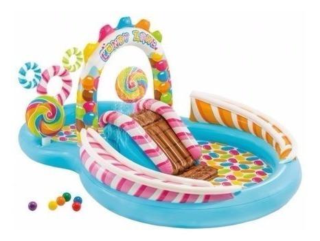 Piscina Infantil Jogos Aquático Intex - Confetes E Doces