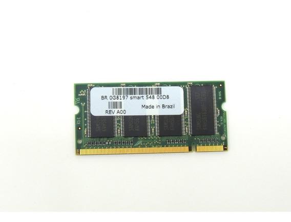 Memória Para Notebook 256mb Ddr Pc2700 Smart