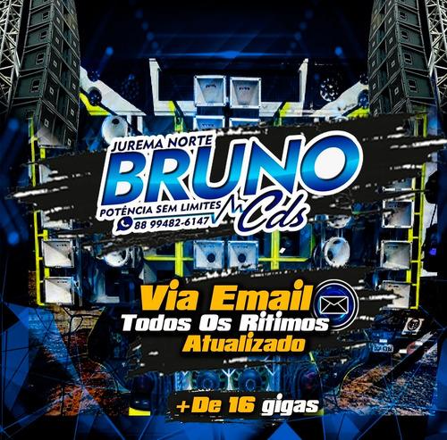 Imagem 1 de 3 de Repertório Atualizado Bruno Cds De Jurema Norte