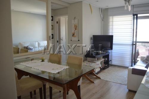 Imagem 1 de 15 de Apartamento Com Varanda  No Bairro Santa Terezina - Mi84382