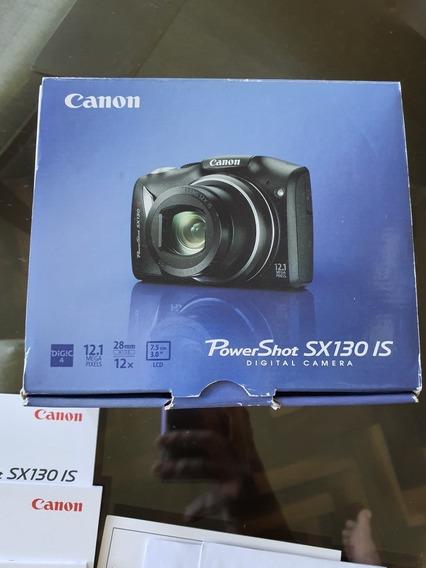 Câmera Fotográfica Canon Powershot Sx130 Is