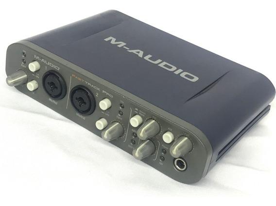 Interface De Audio M-audio Fast Track Pro - Fotos Reais!