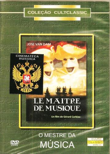 Dvd O Mestre Da Música, José Van Dam E Anne Roussel, 1988 +