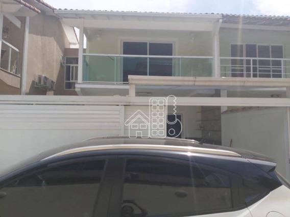 Casa Com 3 Dormitórios À Venda, 90 M² Por R$ 400.000,00 - Barro Vermelho - São Gonçalo/rj - Ca1372