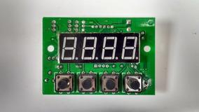 Placa Com Display Integrado Para Par Led 54x3w Rgbw Mr1710
