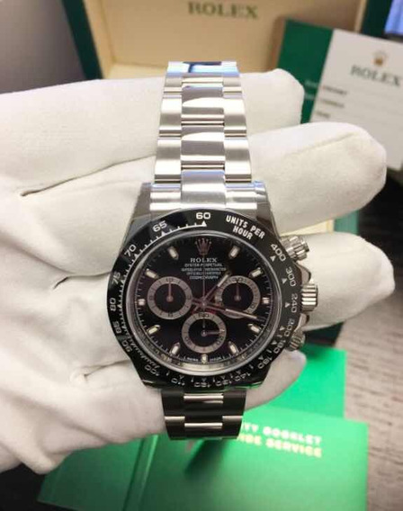 Relógio Rolex Daytona ,safira, Automático,acab Suíço