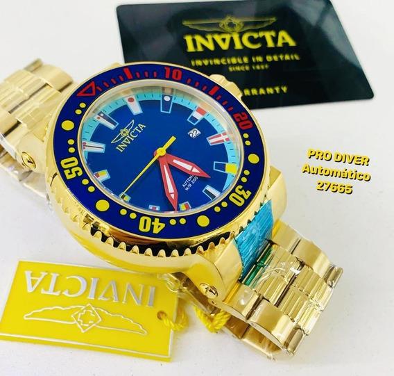 Relógio Invicta Automático 27665, Cassino, Frete Grátis*