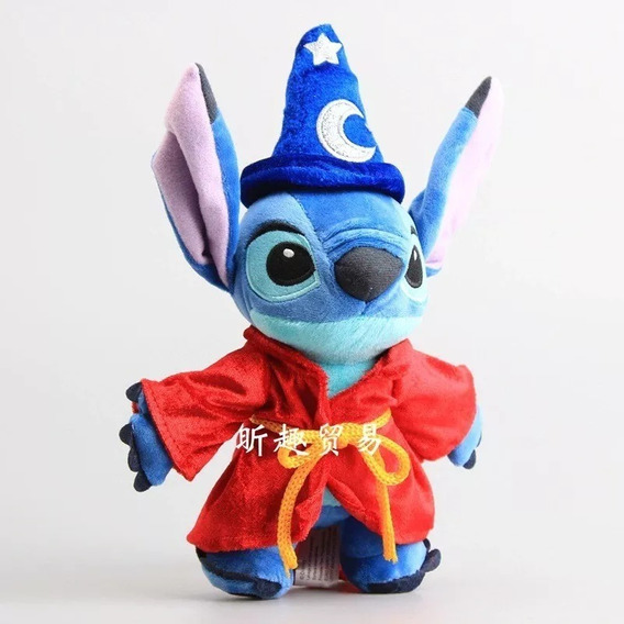 Feiticeiro Stitch De Pelúcia Plush 25 Cm Disney Store