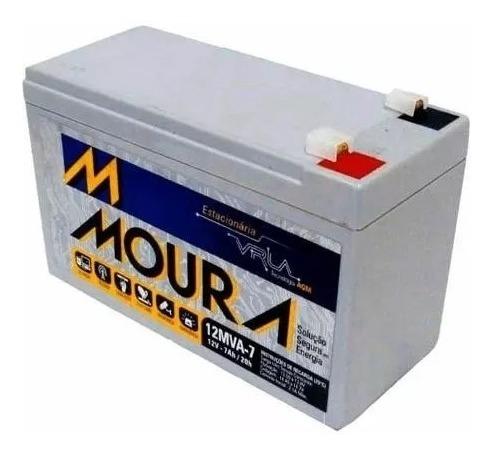 Bateria Moura Vrla Selada 12v 7ah Nobreak Envio Expresso