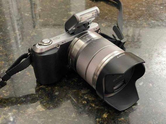 Câmera Sony Nex-c3 16.2 + Lente Objetiva + Bateria Original