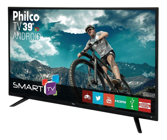 Smart Tv Philco Led 39 Ph39e60dsgwa Android Bivolt