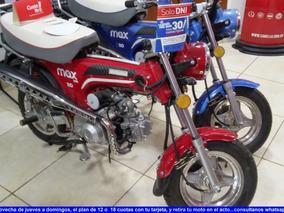 Motomel Max 110cc 0km 7000 Y 18 Cuotas Rgmotos (junin)
