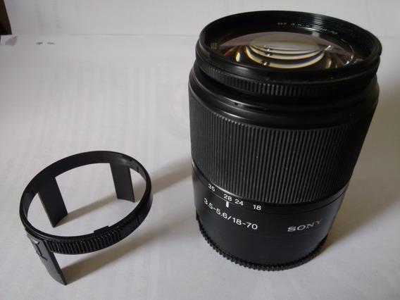 Lente Sony 18-70mm F/3.5-5.6 Dt Sal-1870 (foco Só Manual)