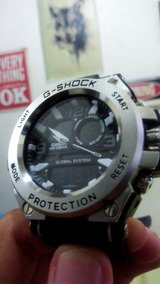Relógio Masculinos G-shock Metal Prateado