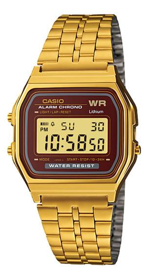 Relógio Casio A159wgea-5df Masculino Dourado - Refinado