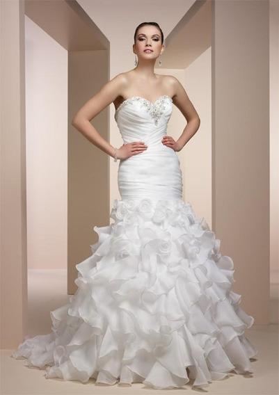 Vestido De Noiva Claudine 40