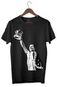 Camiseta Rock - Freddie Mercury