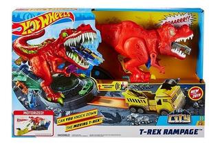 Hot Wheels T-rex Rampage Gfh88, Mattel