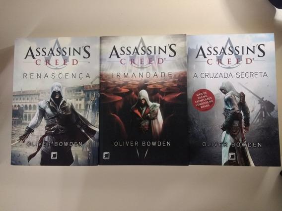 Livros Assassins Creed Trilogia