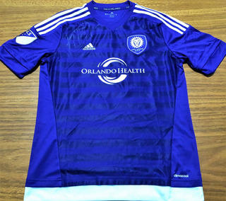 Camisa Do Orlando City Autografada Kaká