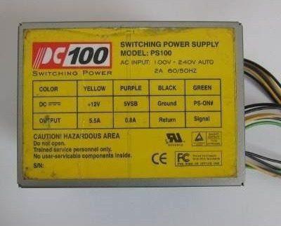 Mini Fonte Pc100 Ps100 12v 5.5a