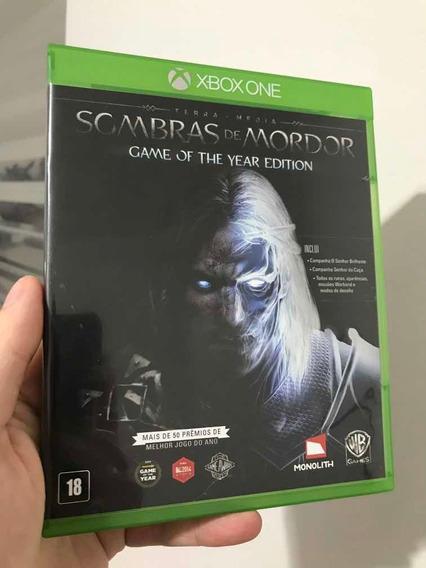 Jogo Sombras De Mordor - Goty - Shadow Of Mordor