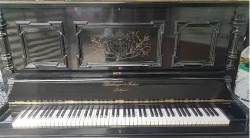 Piano Vertical Shiedmayer Y Soehne Stuttgart