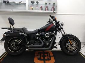 Harley Davidson Dyna Fat Bob Preta 2014 - Target Race