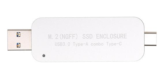 3*usb3.0 A M.2 Ngff Ssd Tipo De Gabinete-a Combo Tipo-c 5gbp