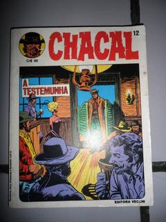 Revista O Chacal Nº 12 (vecchi) Frete Grátis