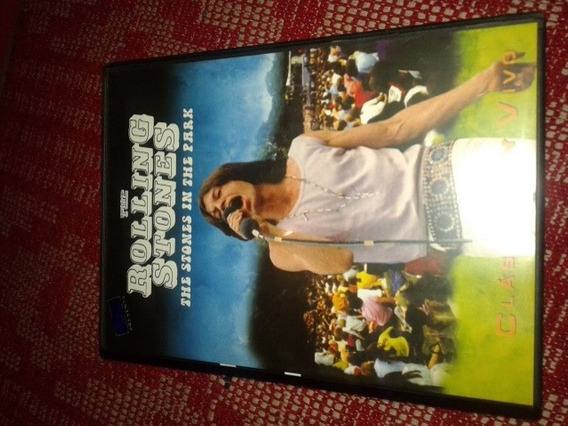 Dvd Inmaculado The Rolling Stones The Stones In The Park