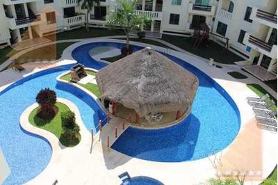 Departamento En Renta 3 Recamaras, Gym, Alberca Y Seg Privada Mediterranee Cancun