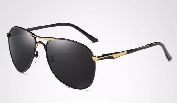 Óculos De Sol Hdcrafter Masculino Aviador Original