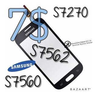 Mica Tactil Samsung Galaxy 7562 7560 7270